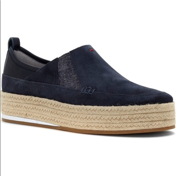 ED Ellen DeGeneres Garance Platform Espadrille(Women's) -Lagoon Leather Outlet Footlocker Finishline q0xCWvx4